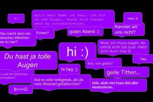 Online-Dating Chat-Seiten